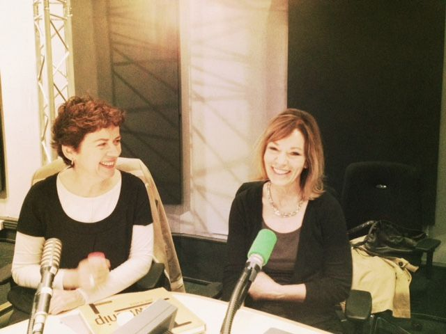 Anne Rearick et Brigitte Patient