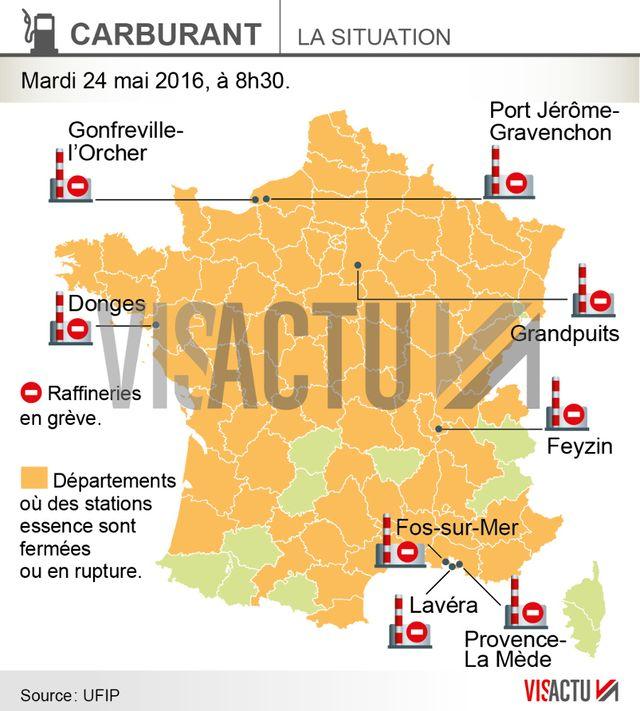 La CGT annonce le blocage de toutes les raffineries françaises