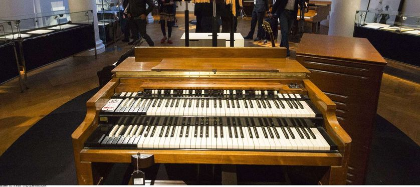 A Hammond Model B3 organ, Sotheby's 'Rock and Pop' 2015