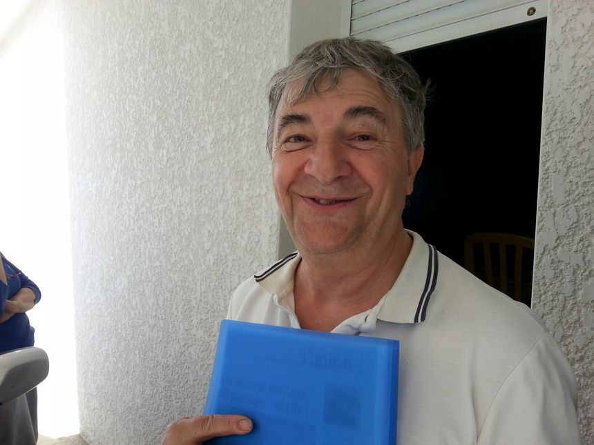Georges Muratet co-fondateur du groupe de recherche de Castelmaurou-Gragnague