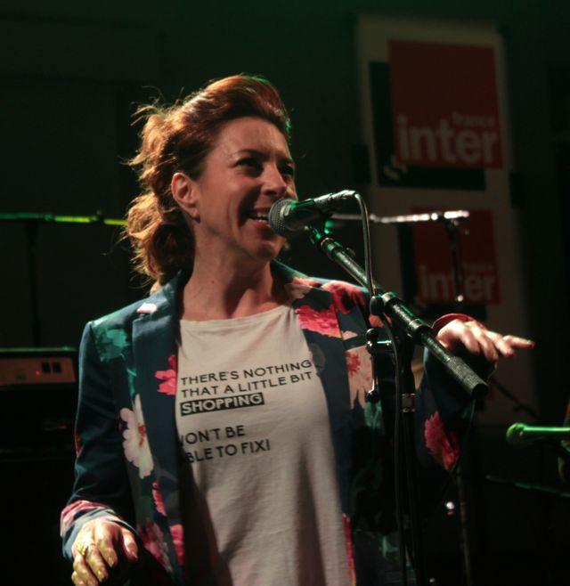 Robin McKelle joue au studio 105 pour Partons en live!