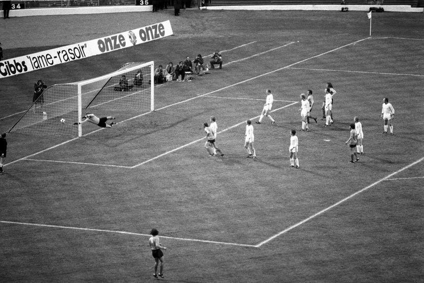 La finale AS Saint-Étienne / Bayern Munich, le 12 mai 1976 à Glasgow