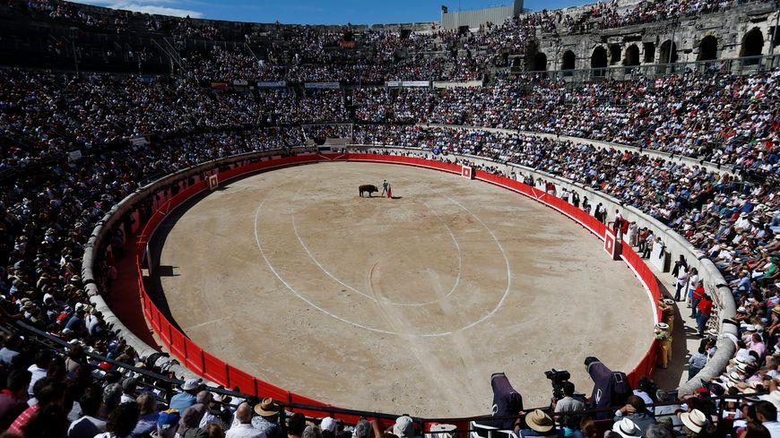Les arènes de Nîmes en Feria
