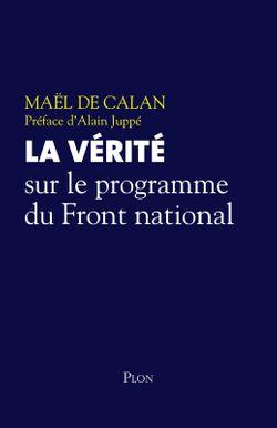 """Couverture """"La vérité sur le programme du Front national"""""""