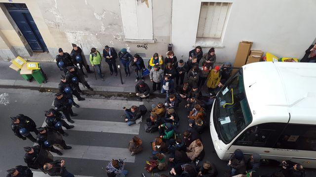 Evacuation Jean Jaures