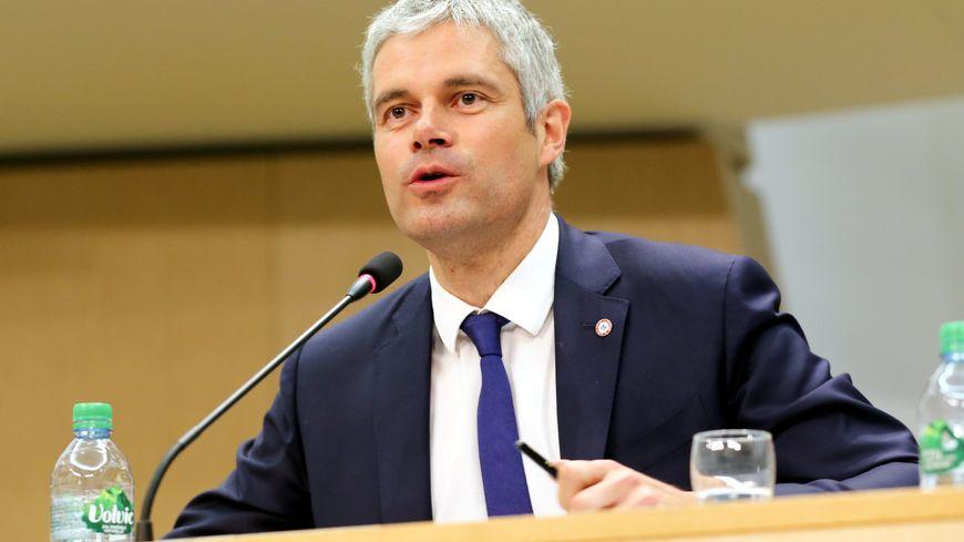 Laurent Wauquiez (LR), président de la région Auvergne-Rhône-Alpes