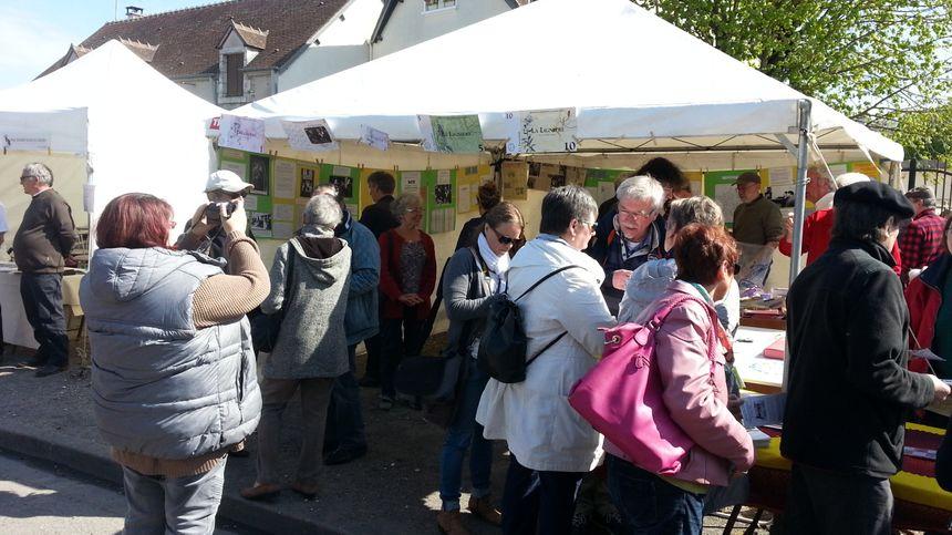 le stand del a Lignière a attiré beaucoup de curieux