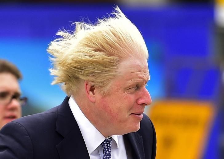L'ex-maire de Londres Boris Johnson
