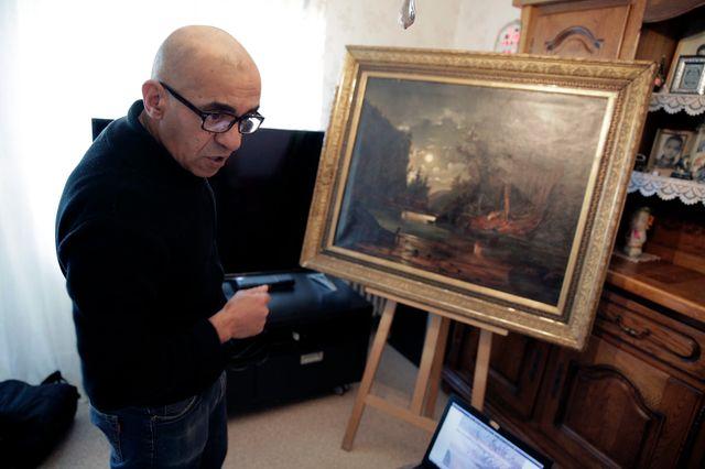 Ahmed Ziani pense avoir acheté un Renoir