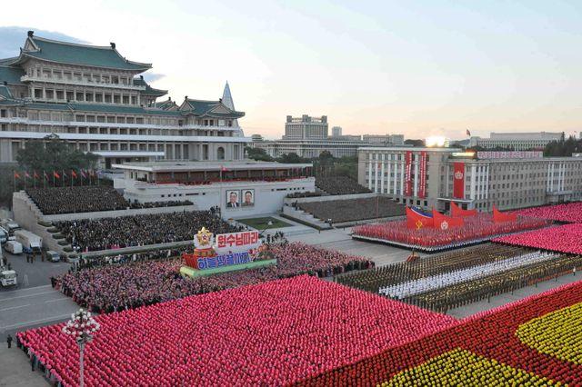 Parade militaire à  Pyongyang en octobre dernier