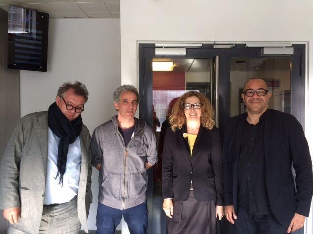 Bertrand Delais, Ollivier Pourriol, Isabelle Veyrat-Masson, Alexandre Michelin