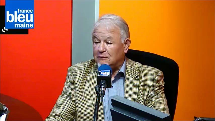 Gérard Loison, président de la ligue du Maine de football