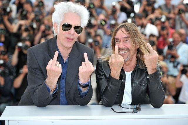 Iggy Pop et Jim Jarmusch au 69ème Festival de Cannes, 19 mai 2016.