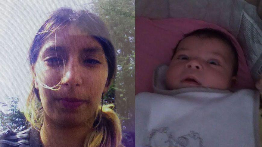 Imen et sa petite fille, Yanis