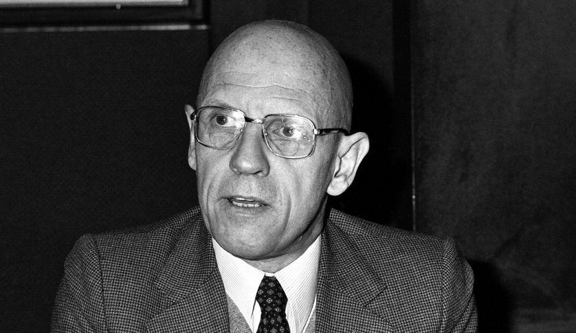 Michel Foucault dans les studios d'Europe 1