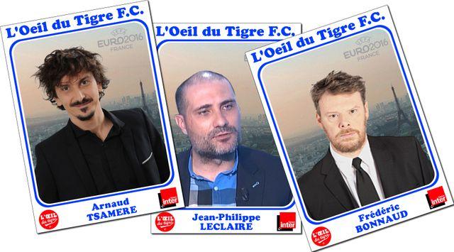 Arnaud Tsamère, Jean-Philippe Leclaire et Frédéric Bonnaud