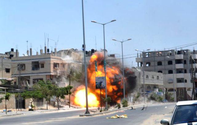 une frappe israélienne tue cinq palestiniens à gaza