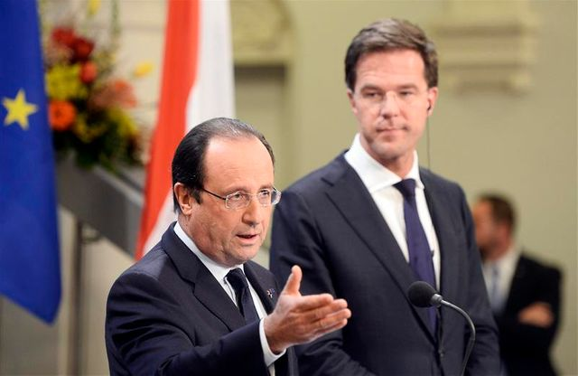françois hollande récolte les fruits du tournant social-démocrate aux pays-bas