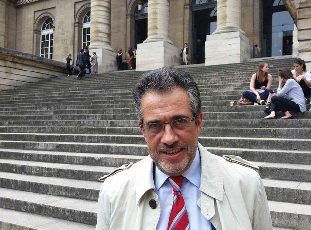 Pascal Gastineau, président de l'AFMI