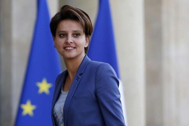 najat vallaud-belkacem, première femme promue à l'èducation nationale