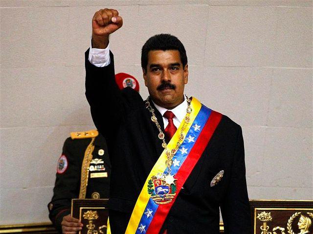 nicolas maduro investi au venezuela