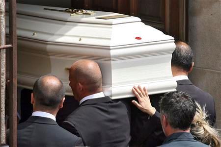 obsèques à florensac de la petite carla