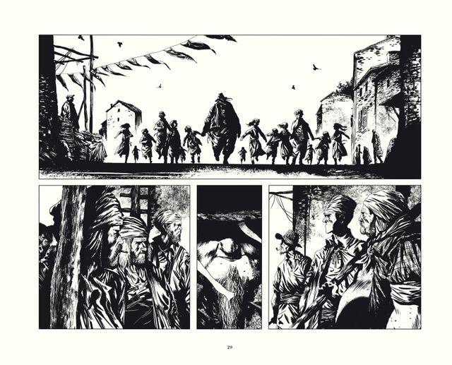 Page 29 du Rapport de Brodeck T2 de Manu Marcenet publié chez Dargaud
