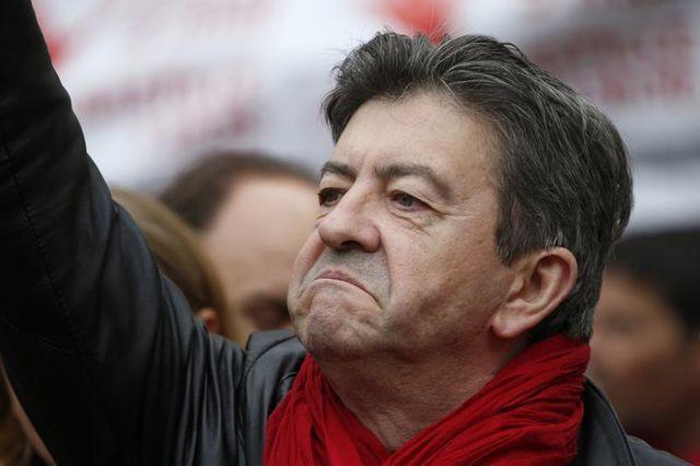 jean-luc mélenchon espère rassembler 100.000 manifestants à la bastille