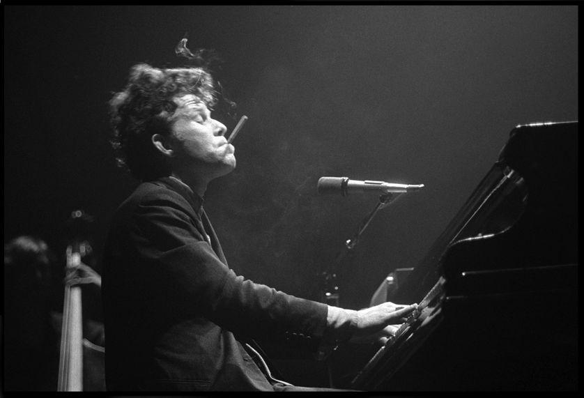 Tom Waits en concert à Londres