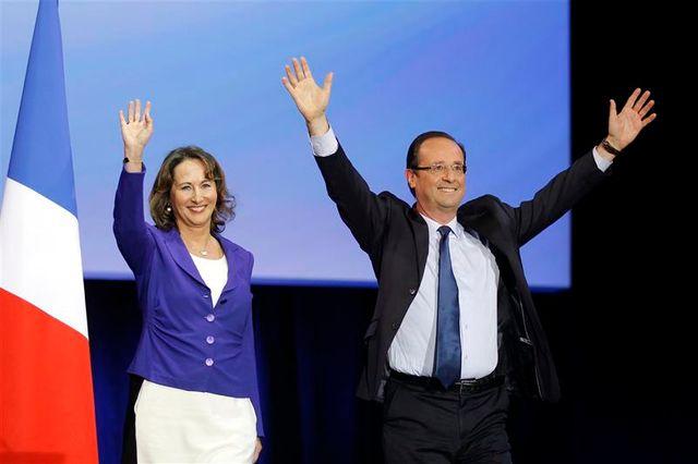 """ségolène royal lance un """"vibrant appel"""" à la victoire de françois hollande"""