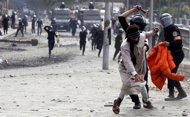 tensions persistantes en égypte