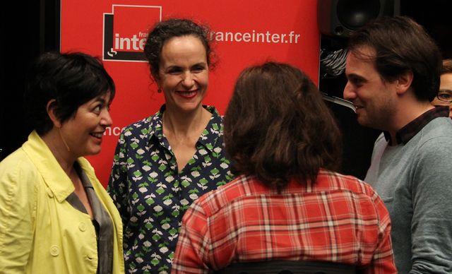 Trois lauréats : Valérie Zenatti (2015), Agnès Desarthe (1996) et Tristan Garcia (2016)