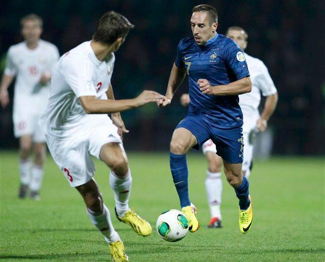 victoire de la france contre la biélorussie