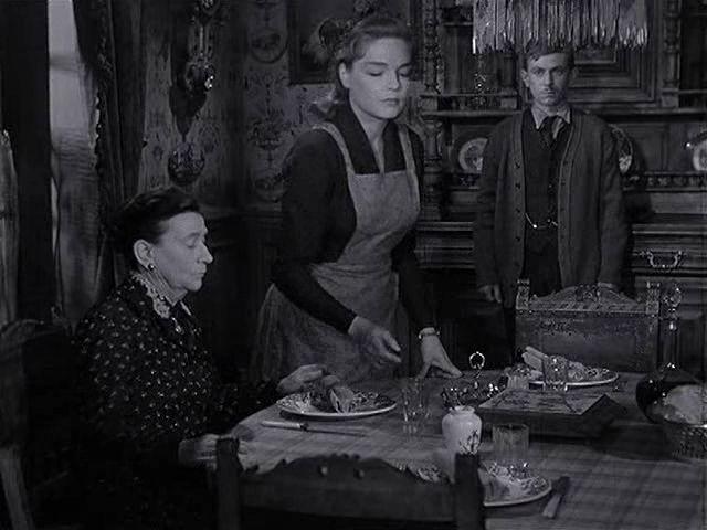 Simonet Signoret dans Thérèse Raquin, 1953