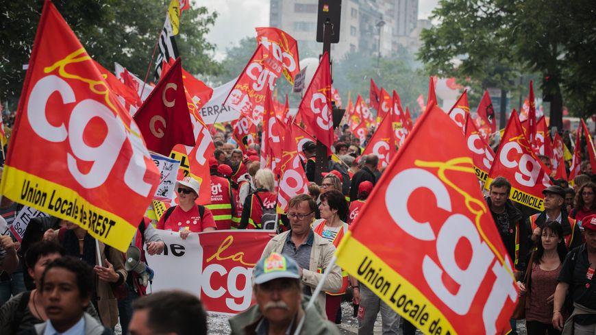 Manifestation inter-syndicale contre le projet de loi Travail - Illustration