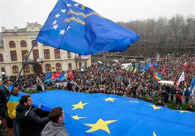 manifestaion pro ue à kiev