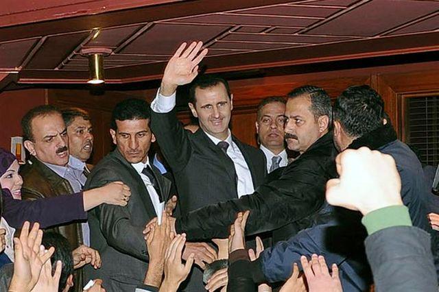 le discours du président bachar al assad n'a pas enrayé les combats en syrie