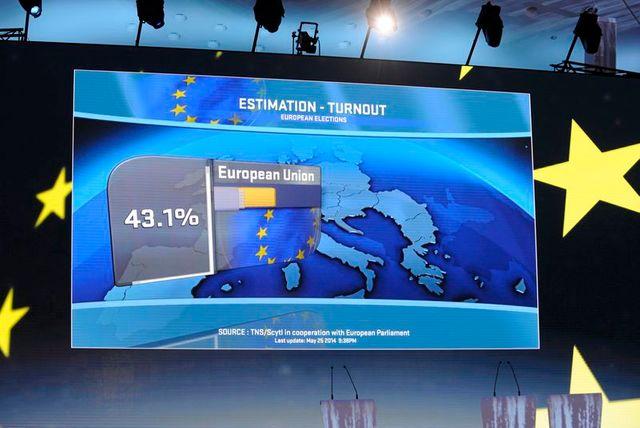 les européennes marquées par la victoire du fn en france