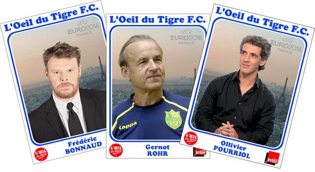 Frédéric Bonnaud, Gerhot Rohr et Ollivier Pourriol