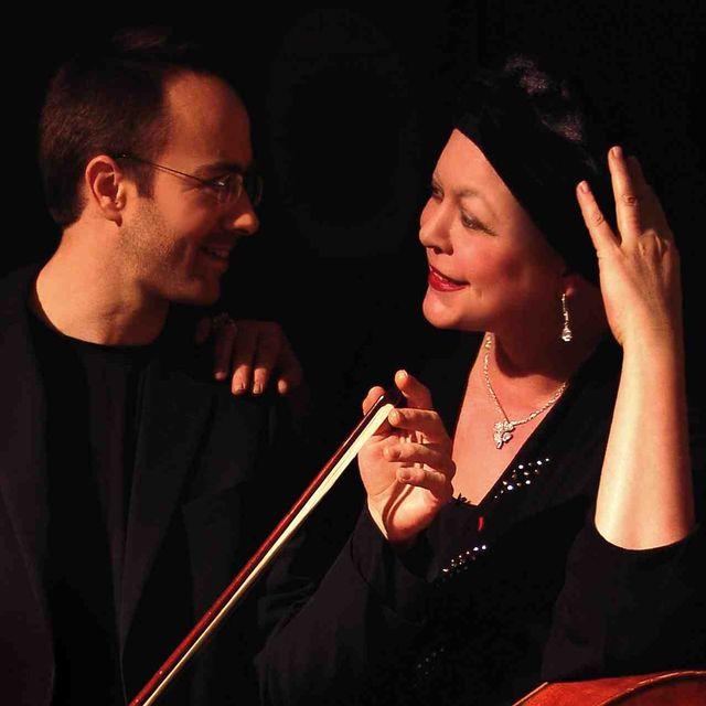 H. Demarquette et B.Engerer au concert de poche