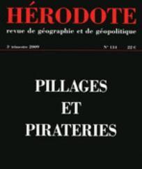 """Couverture du n°134 de la revue """"Hérodote"""""""