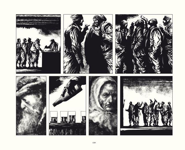 Page 139 du Rapport de Brodeck T2 de Manu Marcenet publié chez Dargaud