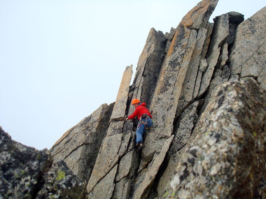 Benjamin Brochard tout proche du sommet