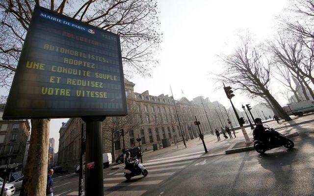 sept millions de décès liés à la pollution de l'air en 2012, selon l'oms