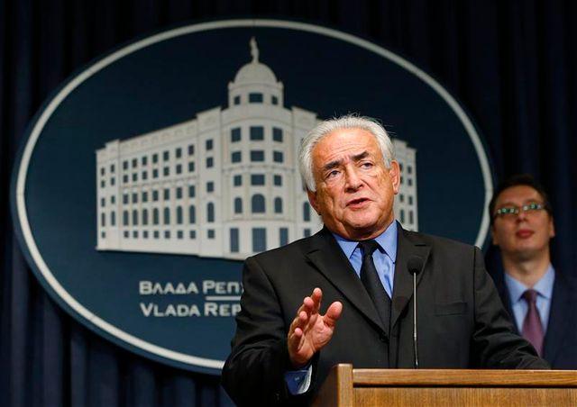 dsk prend ses fonctions de conseiller économique de la serbie