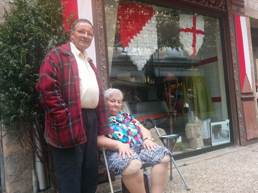 Monique et Daniel ne ratent jamais les Ostensions de Saint-Junien