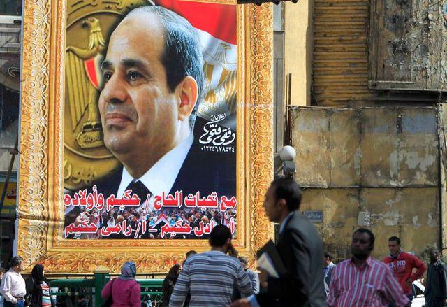 le maréchal sissi se présente à la présidentielle en égypte