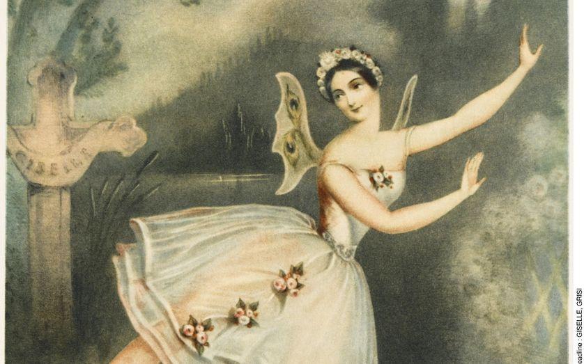 Giselle, Carlotta Grisi dans le rôle principal, 1841.