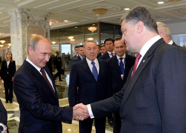 kiev annonce un accord avec poutine sur une trêve permanente