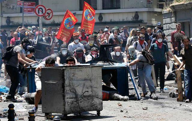 poursuite des manifestations à istanbul
